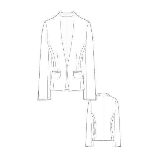 Tailoring- 2Apollo/ Vネックスペンサージャケット