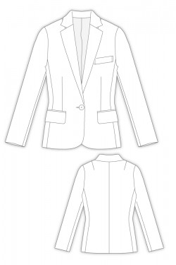 Tailoring- 298Catheline/ 細身テーラードジャケット