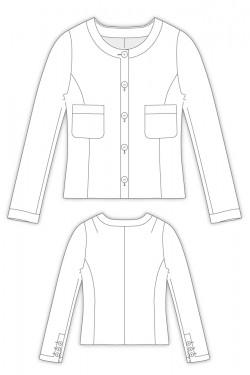 Tailoring- 2Julie/ ノーカラージャケット