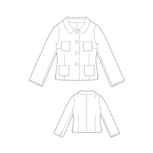 Tailoring- 2Linsey/ 4釦ステンカラージャケット
