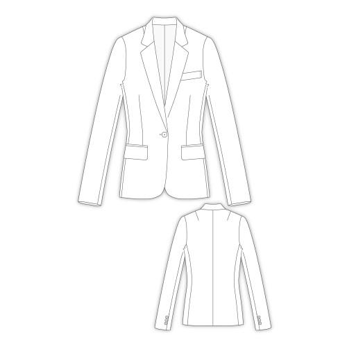 Tailoring- 2Shellbon/ テーラードジャケット