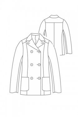 Tailoring- 343B/ Pコート