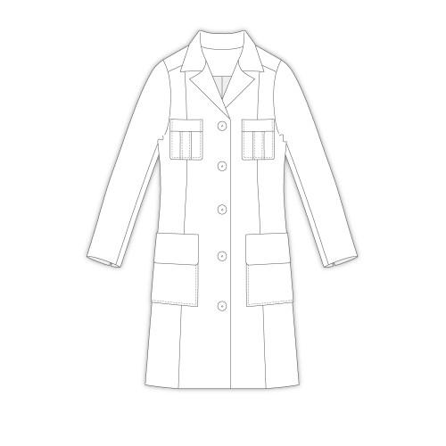 Tailoring- 3Jella/ テーラードロングジャケット