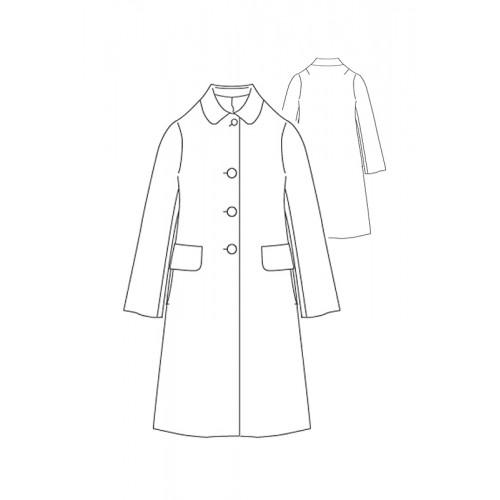 Tailoring- 3Mic/ ステンカラー Aラインコート
