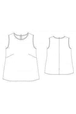 Tailoring- 6Hendric_a/ クルーネックタンクトップ