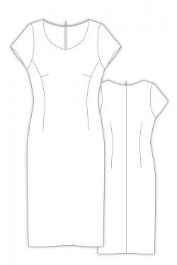 Tailoring- 8Emillie2/ セミタイトラインのワンピース