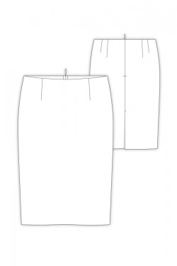 Tailoring- 9Amber/ 大人タイトスカート