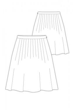 Tailoring- 9Damiani/ タックスカート