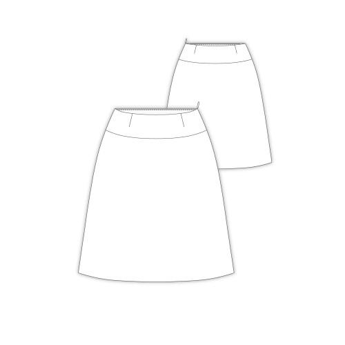 Tailoring- 9Lois/ 台形セミフレアースカート