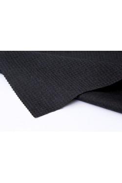 薄起毛ウールのスーツ地、ブルーブラック 2.7m着分