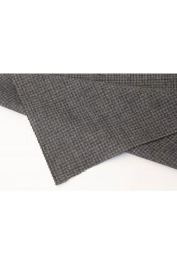 薄起毛ウールのスーツ地、ミドルグレー 2.7m着分